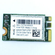 Bigfoot networks Killer 1525 AC WIFI WLAN CARD+Bluetooth K1D64 Atheros QCNFA34AC