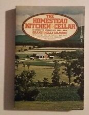 Grant Holly Gilmore (1973 Paperback ISBN 76346195) Homestead Kitchen & Cellar