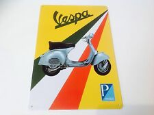Vespa Piaggio Mods Brighton ciclomotores Metal Cartel De Bar Pared Decoración signo Tin Placa