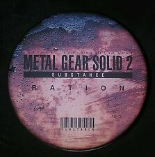 METAL GEAR SOLID 2 SUBSTANCE PROMO RATION TIN