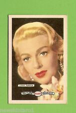 #D160. 1958-64  ATLANTIC PETROLEUM FILM STARS CARD #27  LANA TURNER