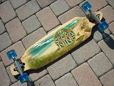 "*NEW* Sector 9 Mini Lookout 37.5"" Complete Longboard Skateboard Drop Thru"