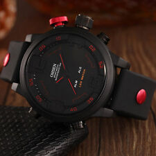 OHSEN Luxury Men Fashion Sports Waterproof LED Digital Analog Quartz Wrist Watch