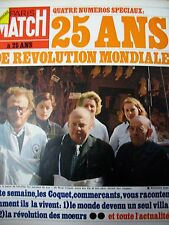 PARIS MATCH N° 1298 PETITS COMMERCANTS REVOLUTION MONDIALE JEAN YANNE 1974