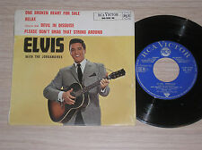 "ELVIS PRESLEY - ELVIS WITH THE JORDANAIRES - RARO 45 GIRI 7"" EP FRANCE"