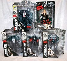 Sin City Select Figure Lot of 5- SDCC Bloody Marv Hartigan Color Nancy More NEW!