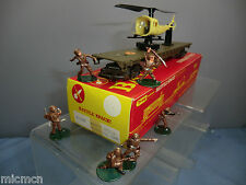 TRI-ANG HORNBY MODEL No.R128K  BATTLE SPACE  RESCUE HELICOPTER & COMMANDO'S MIB
