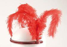 Rubies: Cerchietto Charleston rosso Modello 4/170762 Burlesque 20 Anni Partito