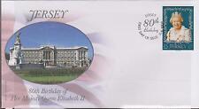 GB - JERSEY 2006 80th Birthday HM Queen Elizabeth II £5 SG 1273 FDC ROYALTY