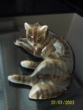Cat Figurine,Knight Ceramics,KERAMOS,VIENNA,Austria