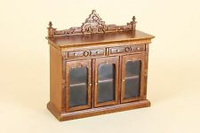 Dollhouse Miniature  BANKERS CONSOLE CABINET  6028-NWN    Bespaq Diect