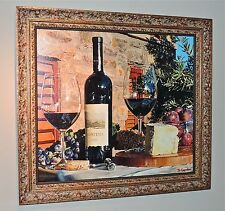 "Eric Christensen - ""Finest Hour"" - Custom Framed Giclee Wine Canvas"