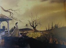 "GONE WITH THE WIND ""TARA RUINS"" LITHO - DOROTHEA HOLT - SHAW-TUMBLIN COLLECTION"