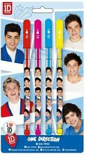 ONE DIRECTION 1D GEL PEN SET OF 4  STATIONERY PENS - NEW