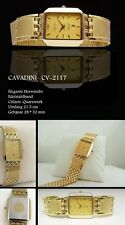 BEAUTIFUL & NICE CAVADINI MEN'S WATCH IPG GOLD PLATED