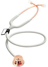 MDF MD One Premium Stethoscope - Rose Gold (White)