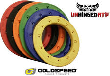 """(4) Goldspeed and DWT 8"""" and 10"""" Carbon Fiber Replacement Beadlock Rings"""