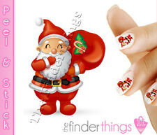 Christmas Santa Claus Nail Art Decal Sticker Set CMS013
