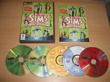 Los Sims 1 Deluxe Triple + Livin It Up Inc. fiesta casa + complementos PC de vacaciones