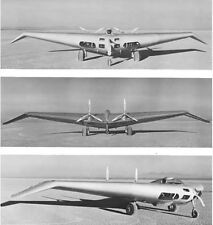 1/6 Scale Northrop N1M Flying Wing Plans, Templates, Instructions