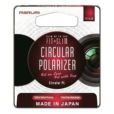 Marumi 77mm Fit Plus Slim Circular Polarizer Filter, London