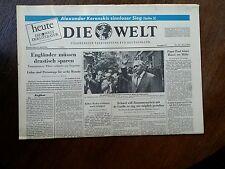 Die Welt.  Raumfahrt.  21 Juli  . 1966.    NR.95