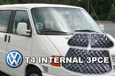 VW T4 INTERNAL THERMAL BLINDS THERMAL BLIND KIT 3PCE WINDOW BLINDS SUM-1293