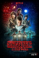 """4083 Hot Movie TV Shows - Stranger Things 24""""x36"""" Poster"""