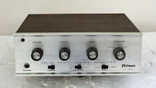 Philmore SA-1500 Stereo Solid State Integrated Amplifier Amp 15 Watts ~ Vintage