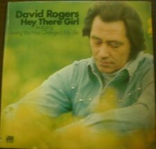 DAVID ROGERS - HEY THERE GIRL - LP