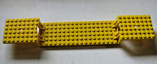 Lego 6x34 TRAIN CAR Base -YELLOW- Split Level - Train Project
