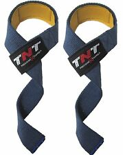 VINTAGE Weight Lifting Padded Straps Weight Bar Straps Gym Fitness Crossfit