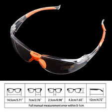 Eye Protection Lab Outdoor Work Anti Fog Clear Protective Safety Goggles Glasses