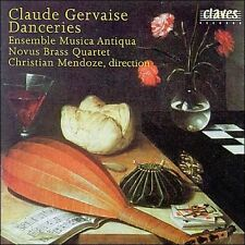 NEW - Danceries by GERVAISE, CLAUDE