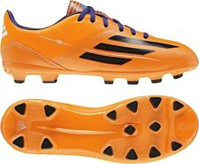 Boys Adidas F10 TRX HG Orange Moulded Studs Football Soccer Boots Size 11.5 UK