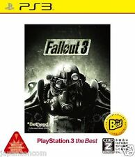 Used PS3 Fallout 3 SONY PLAYSTATION 3 JAPAN JAPANESE IMPORT