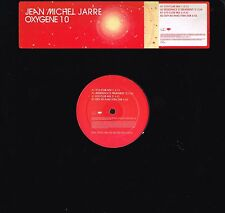 "JEAN MICHEL JARRE Oxygene 10 Remixed 12"" PROMO VINYL Apollo 440 EPIC ‎XPR 3145"