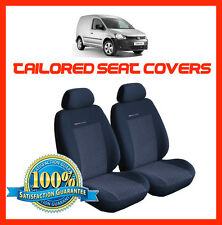 Tailored seat covers for Volkswagen Caddy Van 1+1    2003 - on  Front seats  (1)