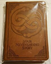 EXCLUSIVE Notebook Your Neverending Story Nerd Block Collectible w Bookmark NEW!
