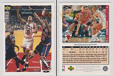 NBA UPPER DECK 1994 COLLECTOR'S CHOICE - B.J. Armstrong # 80 Ita/Eng MINT