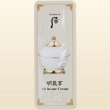 The history of Whoo All-in-One Cream 30pcs Anti-Aging Wrinkles Whitening + Gift