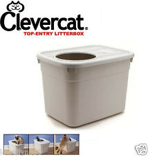 NEW! CleverCat Innovations Litterbox Top Entry Cat Litter Box