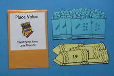 Teacher Made Math Center Resource Game Place Value Teen Numbers
