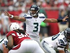 Russell Wilson Seattle Seahawks 8.5 x 11 in. Poster Print Photo Great Quality