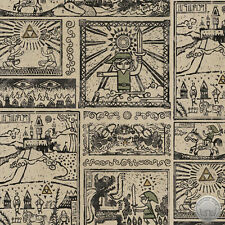 165000088 - New Nintendo Legend of Zelda Game Comic Quilt Fabric By the Yard