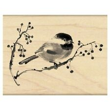 PENNY BLACK RUBBER STAMPS ODE TO CHRISTMAS BIRD STAMP 2014