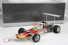 Quartzo 1:18 Lotus 49B F1 -1968 USA GP Pole Position-Mario Andretti's debut race