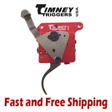 Timney Remington 700 Adjustable 2-Stage Trigger w/Safety -Nickel Plated