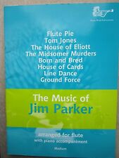 The Music of Jim Parker for Flute and Piano *NEW* Publisher Brass Wind
