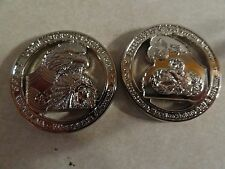 CHALLENGE COIN US AIR FORCE WEAPONS CHIEF CMSGT STEVEN LASER WOWJAA